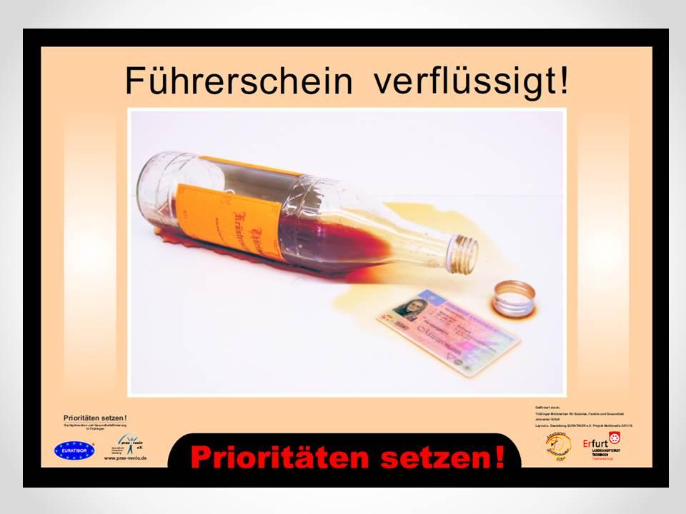 Alkohol Führerschein