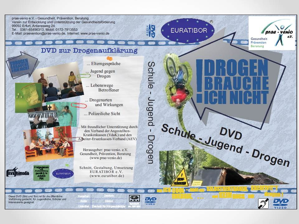 DVD Schule Jugend Drogen 2014