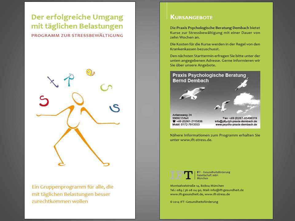 Flyer Stressfrei 2014 Seite 1