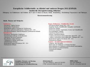 Europäische Schülerstudie Thüringen 2011-k