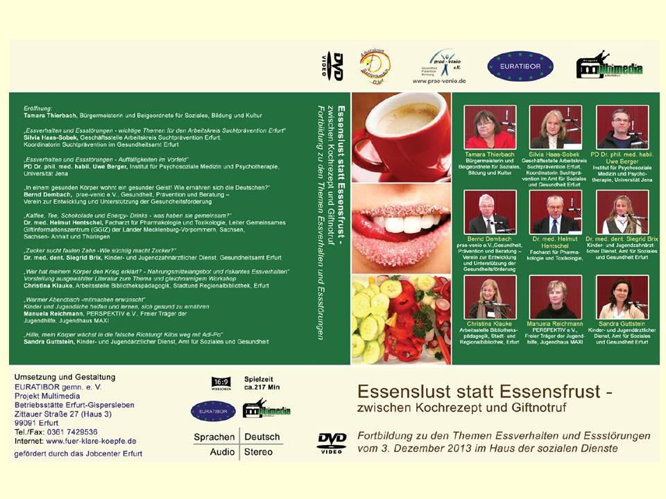 Fachtag Essenslust 2013 DVD