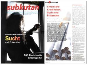 subkutan Chronische Krankheit und Prävention